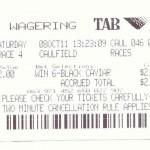 Losing ticket